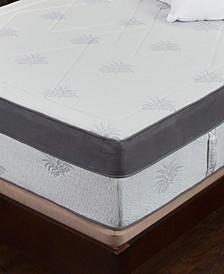 """Aloe 15"""" Medium Firm Mattress - King, Quick Ship, Mattress in a Box"""