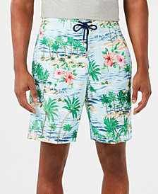"Tommy Bahama Men's Baja Aloha Surf Tropical-Print 9"" Board Shorts"
