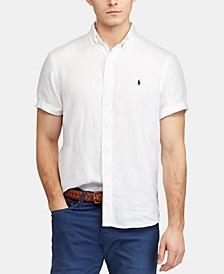 Men's Big & Tall Classic Fit Linen Shirt
