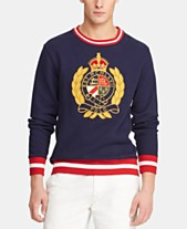 2a9bf27c39778 Polo Ralph Lauren Men s Big   Tall Fleece Graphic Sweatshirt