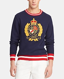 Polo Ralph Lauren Men's Big & Tall Fleece Graphic Sweatshirt
