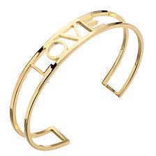 """ADORNIA """"LOVE"""" cuff bracelet"""