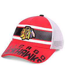 Outerstuff Boys' Chicago Blackhawks Redline Snapback Cap