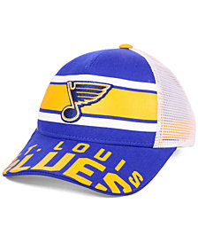 Outerstuff Boys' St. Louis Blues Redline Snapback Cap
