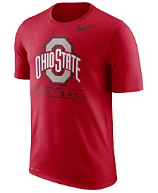 Nike Men's Ohio State Buckeyes Team Issue Baseball T-Shirt