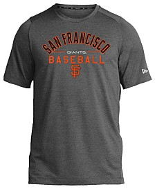 New Era San Francisco Giants Poly Performance T-Shirt, Big Boys (8-20)