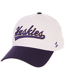 Zephyr Washington Huskies Tailsweep Flex Stretch Fitted Cap