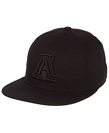 Arizona Wildcats M15 Black on Black Fitted Cap