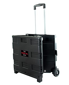 Home Heavy Duty Carry All Easy Folding Cart with Lid