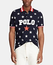 354614652a99ec Polo Ralph Lauren Men s Classic Fit Mesh Americana Polo