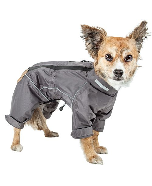Pet Life Central Dog Helios 'Hurricanine' Waterproof and Reflective Full Body Dog Coat Jacket