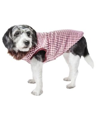 Pet Life Luxe 'Beautifur' Elegant Boxed Faux Fur Dog Coat Jacket