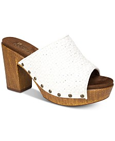 White Mountain Altoria Platform Sandals