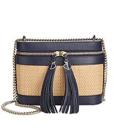 kate spade new york Rose Straw Crossbody
