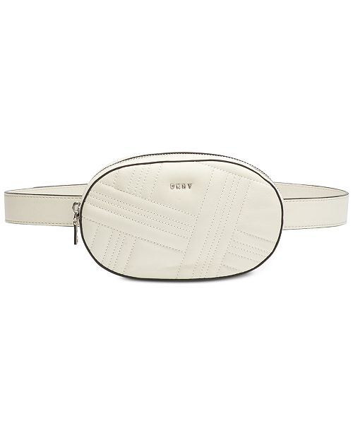 DKNY Allen Crossgrid Belt Bag, Created for Macy's