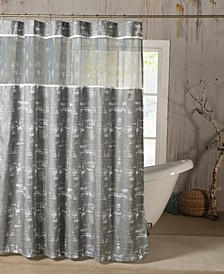 Ella 72x72 Shower Curtain