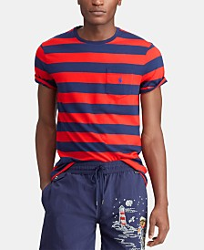 Polo Ralph Lauren Men's Classic Fit Striped  T-Shirt