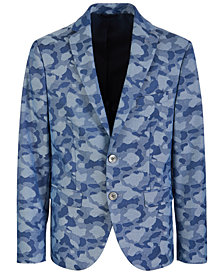 Lauren Ralph Lauren Big Boys Classic-Fit Stretch Camouflage Sport Coat