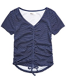 Epic Threads Big Girls Ruched T-Shirt, Created for Macy's