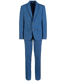 Lauren Ralph Lauren Big Boys Classic-Fit Stretch Blue Suit Separates