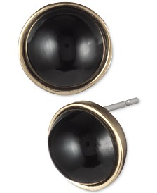 Lauren Ralph Lauren Gold-Tone Stone Stud Earrings