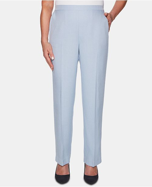 Alfred Dunner Petite Southampton Pull-On Pants