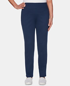 Alfred Dunner Cote D'Azur Pull-On Pants