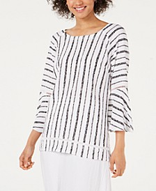 Bell-Sleeve Crinkle Top, Created for Macy's