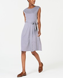 Weekend Max Mara Rosi Cotton Printed A-Line Dress