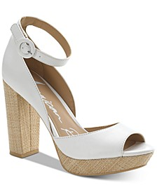 Reeta Block-Heel Platform Sandals, Created for Macy's