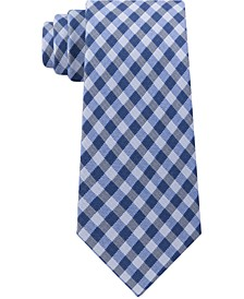 Men's Small Multi Gingham Tie