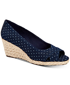 Charter Club Toniie Wedge Sandals, Created for Macy's