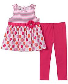 Toddler Girls 2-Pc.Tunic & Leggings Set