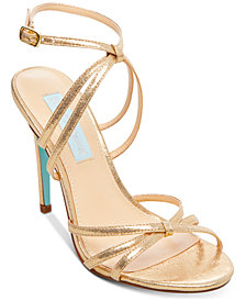 Blue By Betsey Johnson Myla Evening Sandals