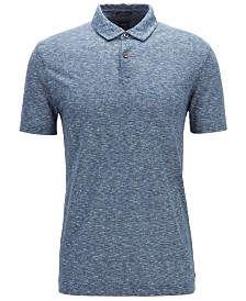 BOSS Men's Perkins Linen Polo Shirt