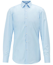 BOSS Men's Jesse Slim-Fit Cotton Shirt