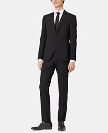BOSS Men's Extra-Slim Fit Virgin Wool Suit