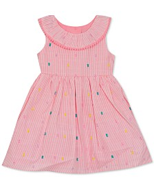 Rare Editions Baby Girls Striped Dress