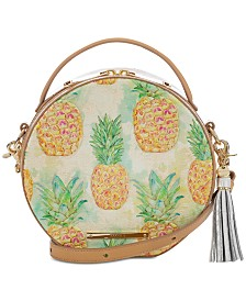 Brahmin Lane Multi Pompano Leather Crossbody