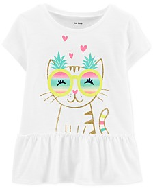 Carter's Toddler Girls Pineapple Sunnies Graphic Cotton Top