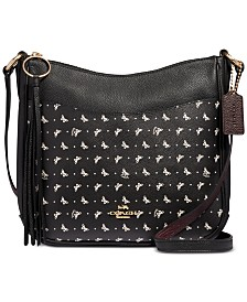 COACH Butterfly-Print Chaise Crossbody