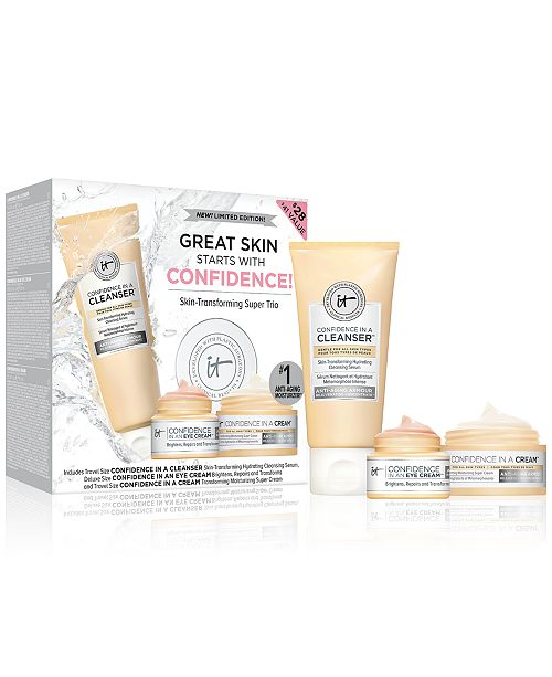 IT Cosmetics 3-Pc. Great Skin Starts With Confidence! Set