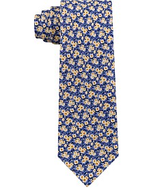 Tommy Hilfiger Men's Mini Floral Slim Linen Tie