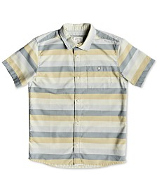 Quiksilver Big Boys Stripe Shirt