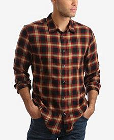 Wrangler Men's Long Sleeve One Pocket Plaid Shirt