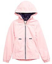8e28e73b317ca6 Jessica Simpson Big Girls Hooded Zip-Up Jacket