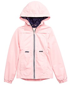 Jessica Simpson Big Girls Hooded Zip-Up Jacket