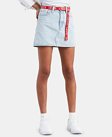Levi's® Cotton Denim Skirt