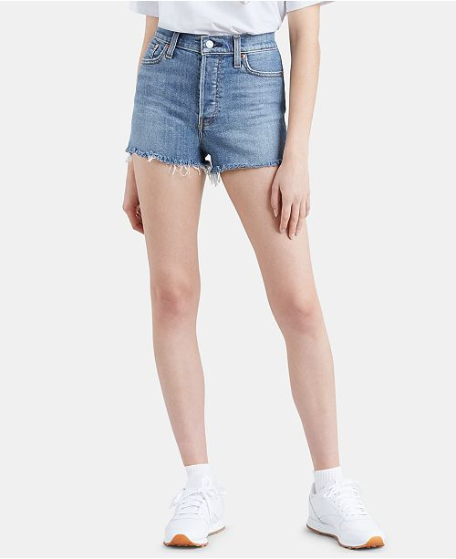 31e04299 Levi's Wedgie Cutoff Denim Shorts; Levi's Wedgie Cutoff Denim Shorts ...
