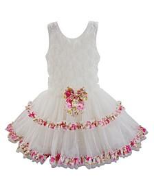 Popatu Girl Soutache Ruffle Dress